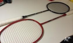 2 Protech Badminton Racquets Brand New $70 each or $100