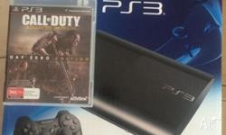 New ps3 500gb with call of duty advance warefare day