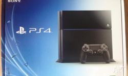 Brand New PS4 Console for sale (never opened!), bought