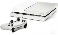 Im selling a White console ps4 which is used for 4