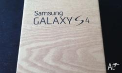 Brand new Samsung Galaxy s4, black 16GB