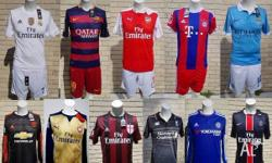 These are BRAND NEW super high quality 2015/16 kits