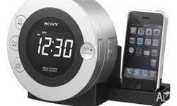 SONY CD Clock Radio for iPod® and iPhone?: ICF-CD3iP