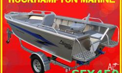 BRAND NEW STESSCO CATCHER SFX450 BOAT, MOTOR, TRAILER