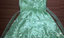BRAND NEW WITH TAGS GIRLS SZ 8 GREEN SPECIAL OCCASION