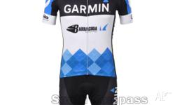 Team Garmin Sharp Jersey+Bib Knicks Sizes from XXL to