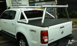 Extension bar and removable rear tradesman rack to suit