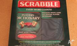 Cute fold out scrabble Ideal for school holidays, fun