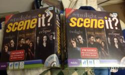 Brand new sealed twilight scene it DVD board game $10