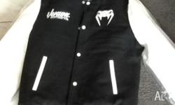 Mens Venum fight club varsity jacket. Brand new, never