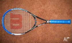 For $100 get 2 racquets brand new from wilson including