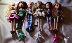 Set of sixteen bratz including all different types of