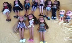 Bratz dolls, Bratz Limo, Bratz car and Little Bratz