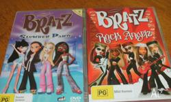 15 x Bratz DVDs. All in great condition. May be picked