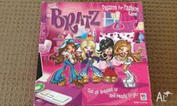 Bratz board game All pieces are still in box Comes with