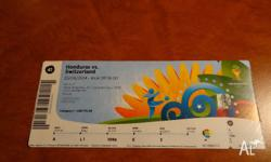 Tickets available: 4x match 41, Manaus - Honduras v