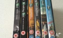 BREAKING BAD! Complete set! 1-6. Just finished watching