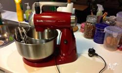 Breville electric wizz mixer, selling it coz upgraded
