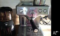 Excellent condition. Breville Espresso Machine - 800