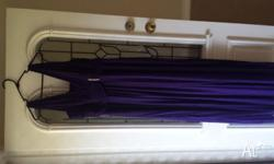 City chic purple bridesmaid dress . Size XS ( but as