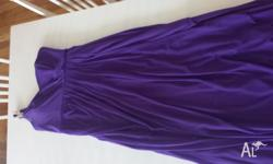 MR K - purple bridesmaid dress -size 16 -worn once -no
