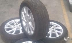 Set of 4 Tyres ~ Complete with 2015 TOYOTA COROLLA