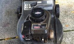 Briggs & Stratton Lawn Mower with catcher that is 4