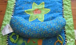 Excellent condition. Great for tummy time. Only used