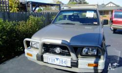 This fantastic Ute is perfect for all trades from