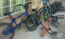 Selling all that you see for one price . Mongoose bmx