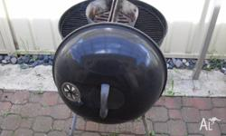 Weber style barbeque, which uses briquettes. Reasonable