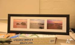 A3 framed print of broome beaches Size 25x 35cm If you