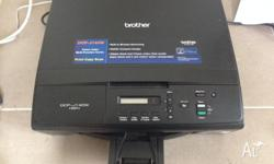 Brother DCP-J140W 3-in-1 Wireless MFP Printer. Wireless