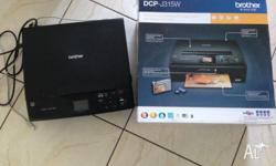 Brother DCP-J315W For Sale, Like New Print, Copy & Fax