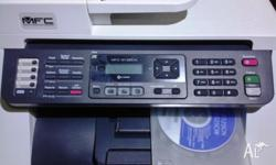 PRINT-FAX-SCAN-COPY FEATURES BARELY USED BROTHER