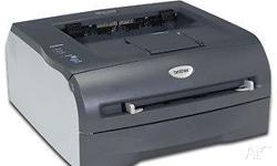 Brother HL 20 monochrome laser printer Easy to use and