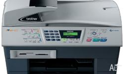 Paid $450 The Brother MFC-5840cn lets you send faxes