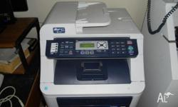 Brother MFC-9120CN colour printer. Has fax, scan, copy