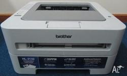 An excellent condition mono laser printer up for sale.