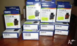 11 ink station new print cartridges LC47 for brothe