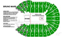 Selling 1 ticket for Bruno Mars Sydney concert on