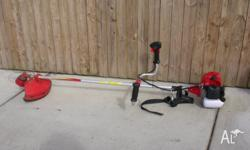 Brand new, 43cc straight shaft, includes wire head and