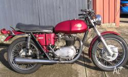 FOR SALE: BSA THUNDERBOLT, 1971 MODEL MOTORCYCLE, TWIN