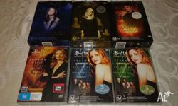Excellent condition DVDs Buffy seasons: - 1 (complete)