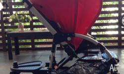 In a Very Good Used Condition - Bugaboo Bee (Red)