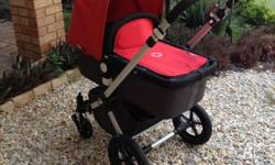 High quality Bugaboo pram with complete set for