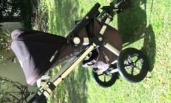 Bought in 2012, hardly used Bugaboo chameleon, black.