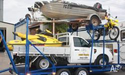 BUILT TOUGH Trailer Boat & Car, Tinny & Car Trailer,