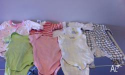 9 Boxes of baby clothes for sale from size 00000 to 0.