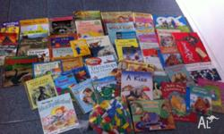For sale as pictured bulk collection of kids books -